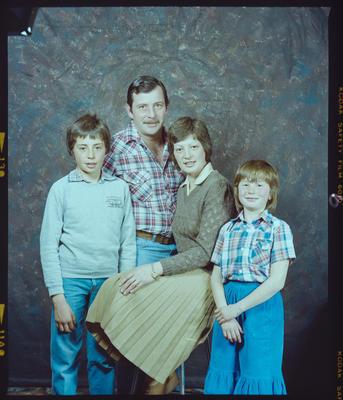 Negative: Judy Wright and Family