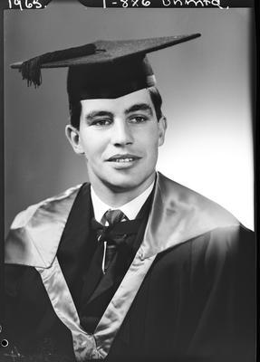 Film negative: Mr Jansen, graduate