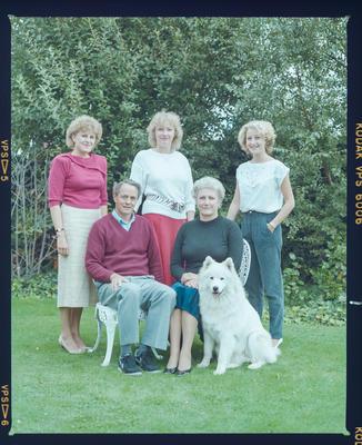 Negative: Tweedle Family Portrait