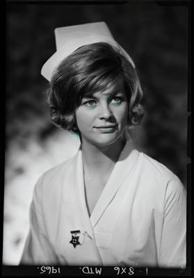 Film negative: Nurse Duxbury