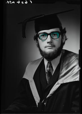Film negative: Mr Ballinger, graduate