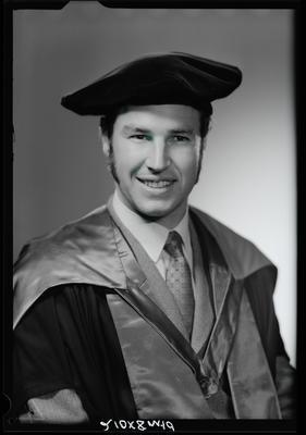 Film negative: Mr P Johnstone, doctorate graduate