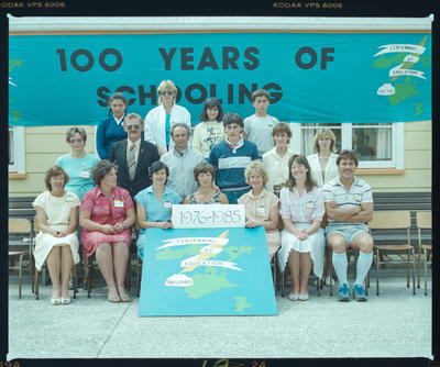 Negative: Chatham Islands School Centenary Group 1976-1985