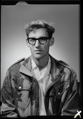 Film negative: Mr R Smith, passport