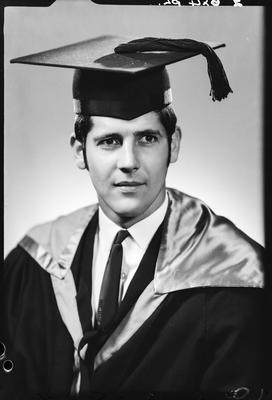 Film negative: Mr Wilkinson, graduate