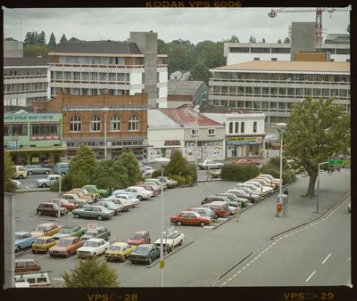 Negative: Victoria Street Christchurch