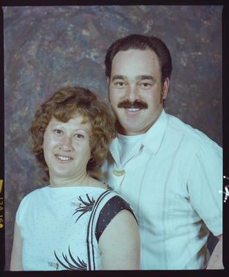 Negative: Eileen and Nigel Ryan Portrait