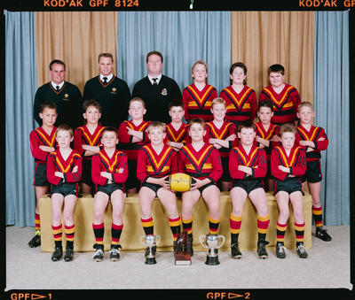 Negative: Halswell Rugby League 11YO 1990