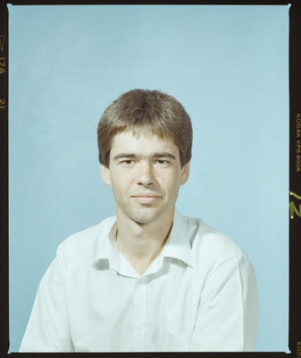 Negative: Mr N. Larsen Passport Photo
