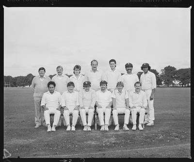 Negative: Wellington W.M.C. Cricket Team 1985