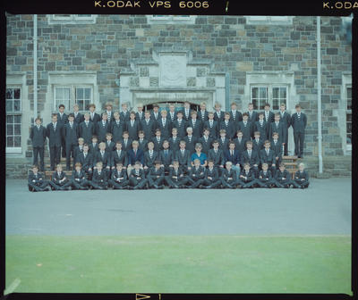 Negative: Christ's College  Jacobs House 1985