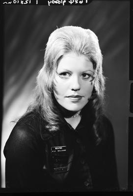 Film negative: Miss J Gallagher