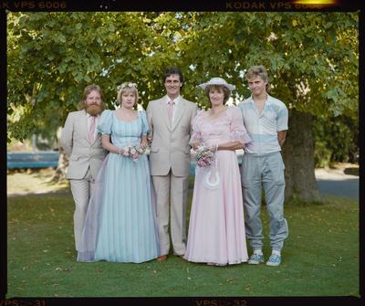 Negative: Sprey-Ewart Wedding