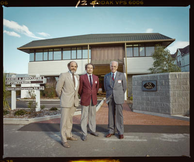 Negative: Curtis & Associates Optometrists Building Opening