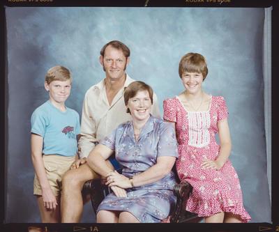 Negative: McQueen Family Portrait