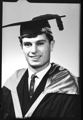 Film negative: Mr Blakely, graduate
