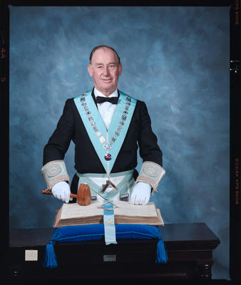 Negative: Mr Goldsworthy Freemason Portrait