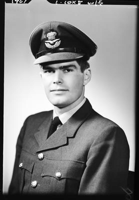 Film negative: Mr Simpson, in Air Force uniform