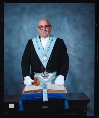 Negative: Mr Ashton Freemason Portrait