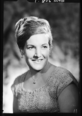 Film negative: Mrs Swarbrick