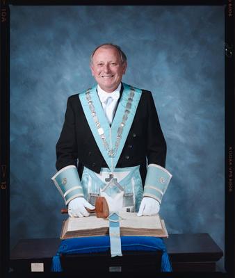 Negative: Mr Neville Freemason Portrait