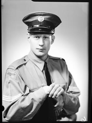 Film negative: Mr Dale, Royal New Zealand Air Force