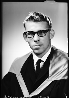Film negative: Mr Cooney, graduate