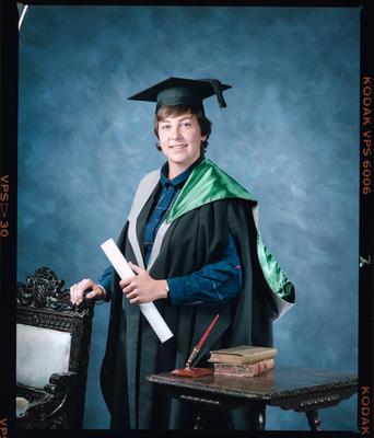 Negative: Ms Loveridge Graduate