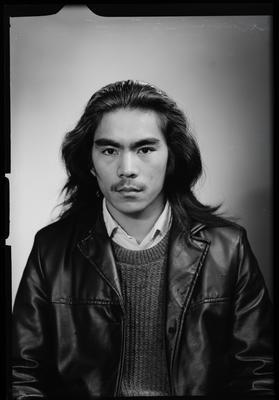 Film negative: Mr Tong, passport
