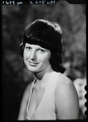 Film negative: Miss M Blair