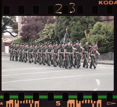 Negative: Canterbury Regiment 125th Anniversary Parade