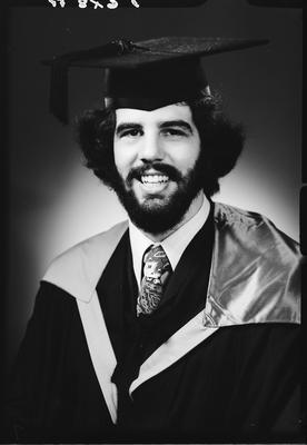 Film negative: Mr R D Balfour, graduate