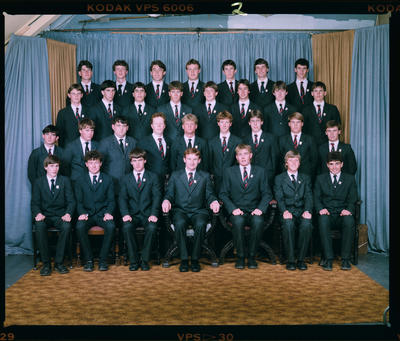 Negative: St Bede's Prefects 1985