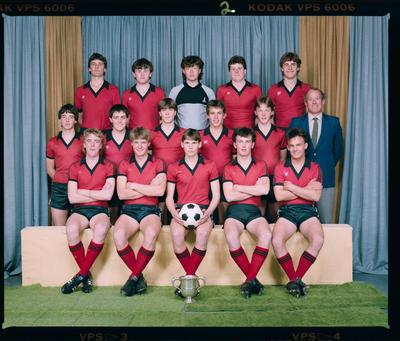 Negative: St Bede's 1st XI Soccer 1985