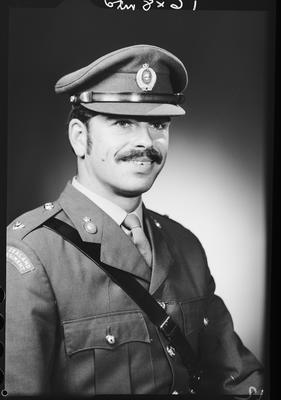 Film negative: Mr McLachlan, Burnham Officer