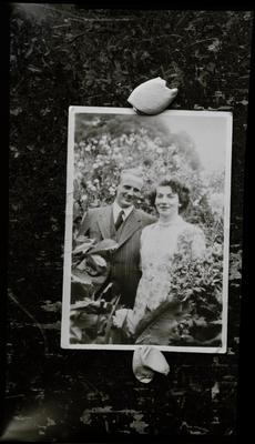 Film negative: Mrs Coop, couple