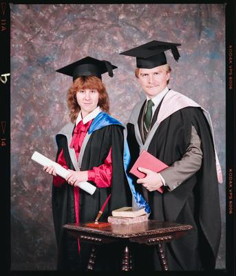 Negative: Ms Jones and Mr Williams Graduates