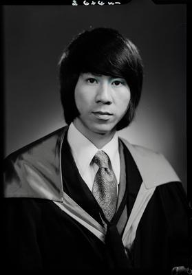 Film negative: Mr Quah, graduate