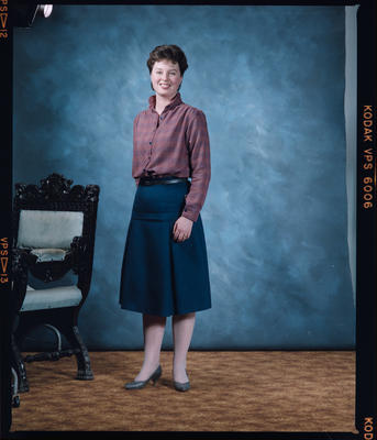 Negative: Ms Carter Portrait