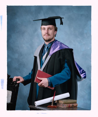 Negative: Mr Frank Graduate