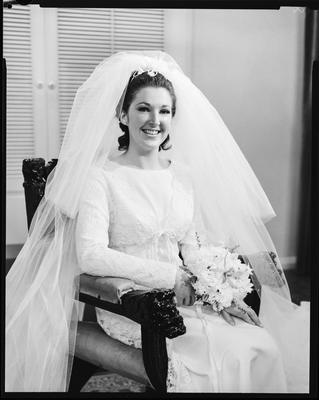 Film negative: Nash and Penniket wedding, bride
