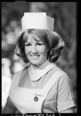 Film negative: Miss H Prenderville, nurse
