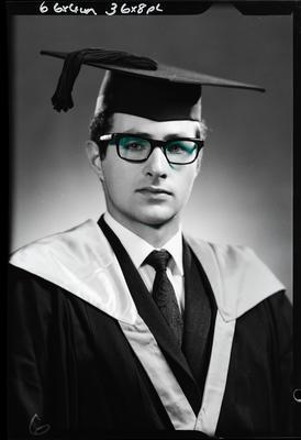 Film negative: Mr Williams, graduate