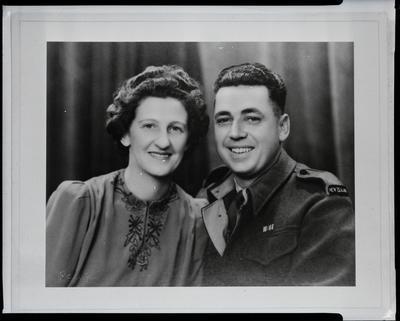 Film negative: Mr Walters, couple