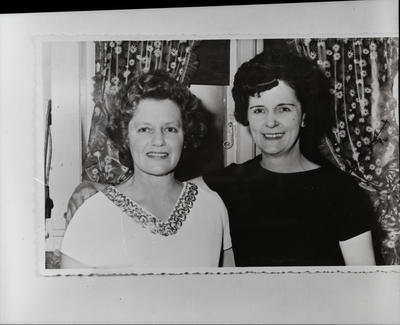 Film negative: Mrs J Souter, group of two