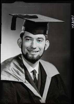 Film negative: Mr Baird, graduate