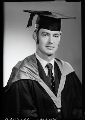 Film negative: Mr D Burns, graduate