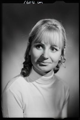 Film negative: Miss Campbell