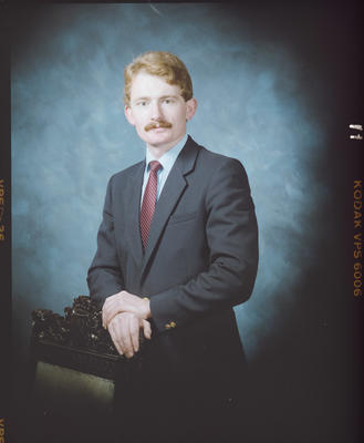 Negative: Mr Nottingham Portrait