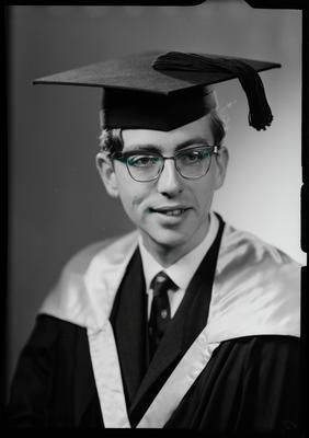 Film negative: Mr N Cashmere, graduate